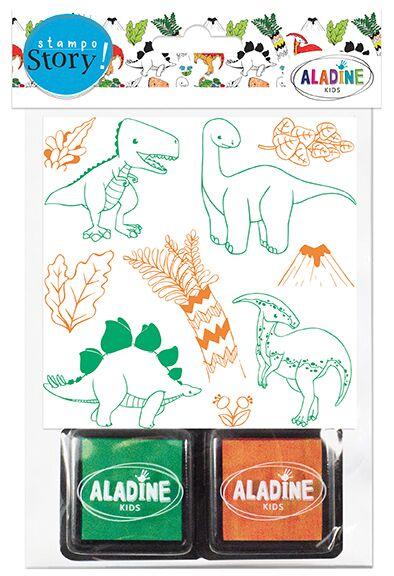 Vyprávěcí razítka StampoStory - Dinosauři
