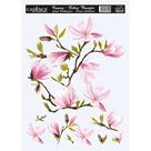 Nažehlovací obrázek na textil Cadence - magnolie, 25 x 35 cm