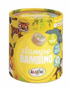Dřevěná razítka Aladine StampoBambino - Safari