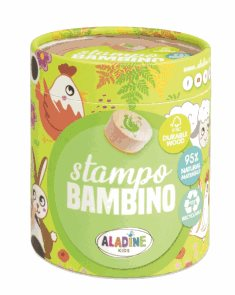 Dřevěná razítka Aladine StampoBambino - Farma