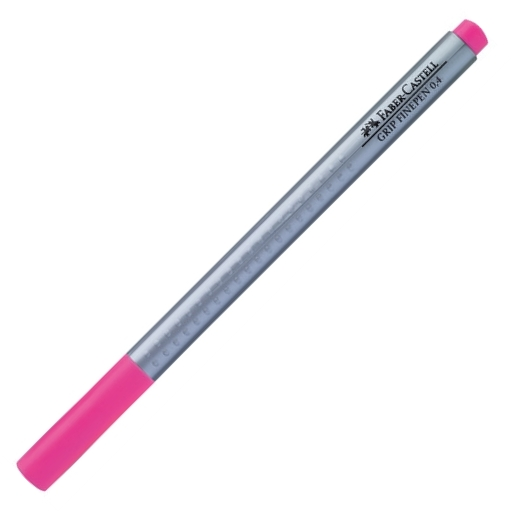 Popisovač Faber-Castell Grip 0.4mm, růžová