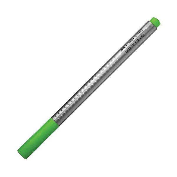 Popisovač Faber-Castell Grip 0.4mm, travníková zelená