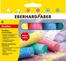 Chodníkové křídy Eberhard Faber glitrové - 4ks