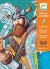 DJECO Výtvarný set folie - Vikingové