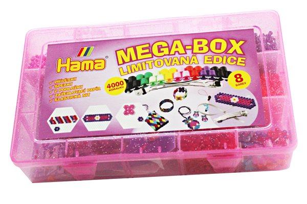 Zažehlovací korálky HAMA MEGA-BOX - 4000 ks MIDI