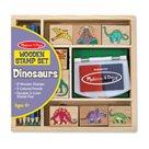 Dřevěná razítka Melissa & Doug - Dinosaurus