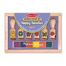 Dřevěná razítka pro nejmenší - Melissa & Doug - Symboly