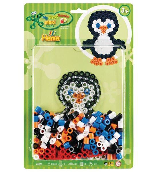 HAMA Korálkový set tučňák - MAXI