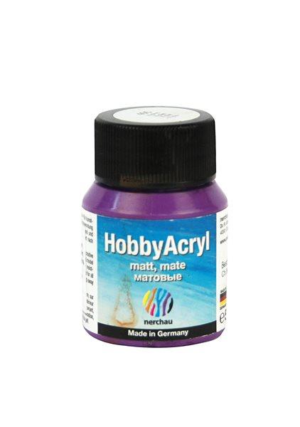 Hobby Acryl matt Nerchau - 59 ml - fialová