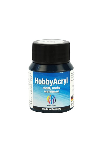 Hobby Acryl matt Nerchau - 59 ml - indigo