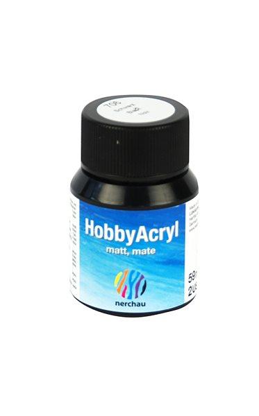 Hobby Acryl matt Nerchau - 59 ml - černá