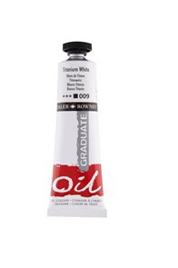 Olejová barva Daler-Rowney 38 ml - titanová bílá