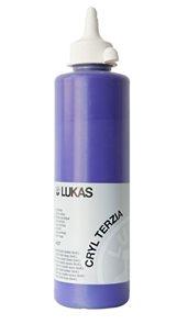 """Akrylová barva LUKAS """"Cryl Terzia"""" 500ml - kobalt fialový tmavý"""