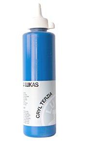 """Akrylová barva LUKAS """"Cryl Terzia"""" 500ml - kobaltová modř"""