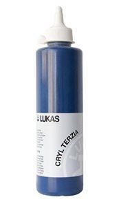 "Akrylová barva LUKAS ""Cryl Terzia"" 500ml - pruská modř"