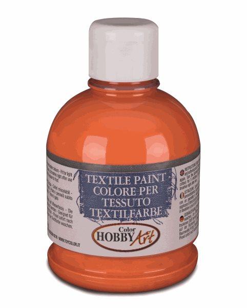 Barva na textil Color Hobby Art, 250ml - oranžová