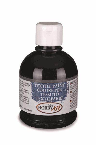 Barva na textil Color Hobby Art, 250ml - černá