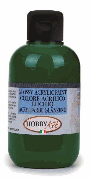 Akrylová barva Hobby Art, lesklá 50ml - zelená