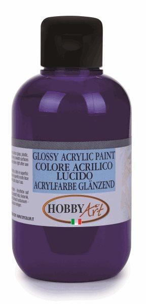 Akrylová barva Hobby Art, lesklá 50ml - fialová