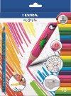 Sada pastelek Lyra My Style, trojhranné, 10 ks