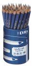 Sada grafitových tužek LYRA Easy Learner, trojhranné, tvrdost tuhy B (48 ks)
