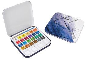 Sada akvarelových barev Daler Rowney, 24 barev