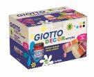 Sada akrylových barev Giotto Decor matt 6 x 25 ml