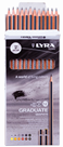 Sada grafitových tužek LYRA Graduate - 12 KS