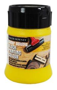 Daler-Rowney tiskařská barva 250 ml - brilantní žlutá