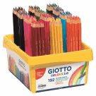 Sada pastelek Giotto Colors v plastovém boxu - 192 ks