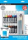 Sada akvarelových barev + příslušenství