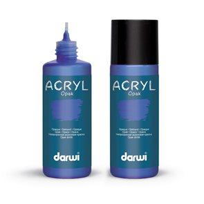 Akrylová barva DARWI ACRYL OPAK 80 ml, ultramarínová modrá