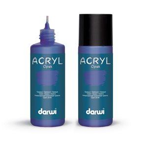 Akrylová barva DARWI ACRYL OPAK 80 ml, pruská modř