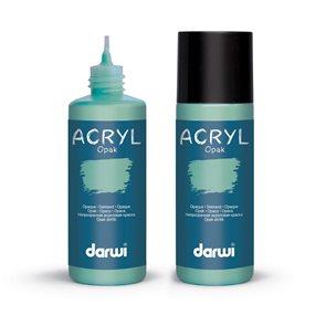 Akrylová barva DARWI ACRYL OPAK 80 ml, mátová