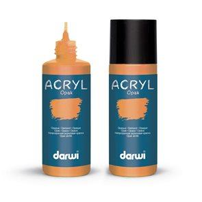 Akrylová barva DARWI ACRYL OPAK 80 ml, oranžová