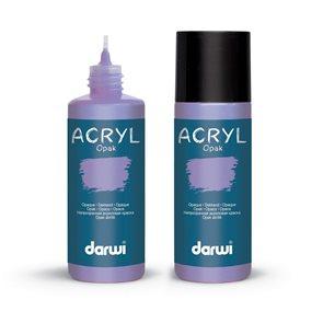 Akrylová barva DARWI ACRYL OPAK 80 ml, šeříková