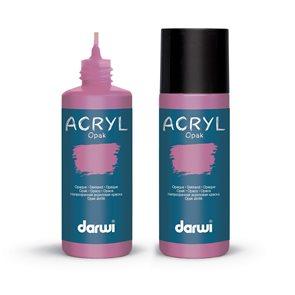 Akrylová barva DARWI ACRYL OPAK 80 ml, parme