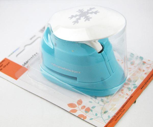 Děrovačka na papír i pěnovku - vločka (25 mm)