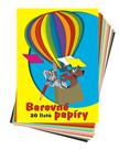 Barevné papíry A4 - 20 listů