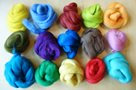 Jihoamerické merino - mix barev, 15 barev, 100g
