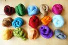 Australské merino, mix barev, 15 barev, 100g