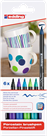 Edding 4200 Popisovač na porcelán, sada 6 studených barev