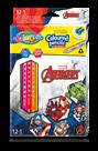 Pastelky Colorino trojhranné, Marvel Avengers - 12 barev