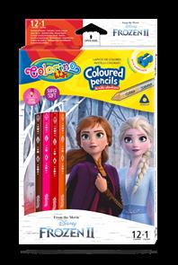 Pastelky Colorino trojhranné, Disney Frozen - 12 barev