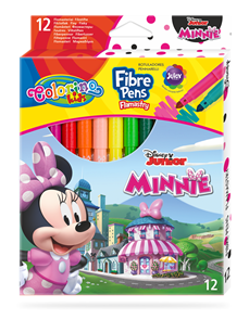 Fixy Colorino, Disney Junior Minnie - 12 barev