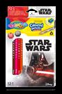Pastelky Colorino trojhranné, Star wars - 12 barev