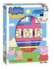 Razítka Pig Peppa - box 4 ks