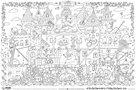 Omalovánky XXL 120 x 80 cm - Hrad princeze