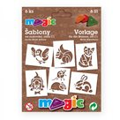 Papírové šablony - Malá zvířata - 6ks