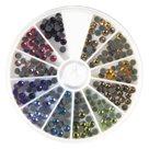 Nažehlovací kamínky na textil HOTFIX - mix barev